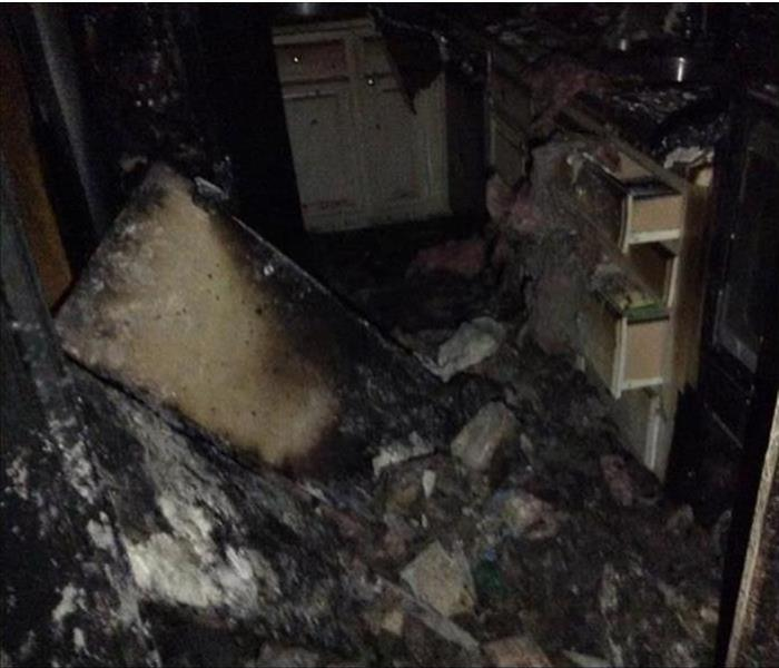 Kitchen Fire Devastates Several Rooms in a Dover Home Before