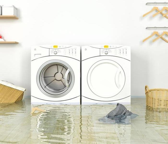 Water Damage Water in Your Laundry Room: Is Your Rochester Home Getting Hosed From Your Washing Machine Hose?